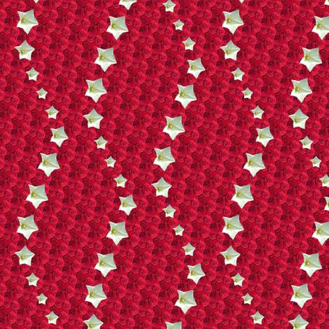 red star 4 fabric by leopardessmoon on Spoonflower - custom fabric
