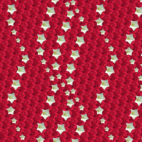 red star 6 fabric by leopardessmoon on Spoonflower - custom fabric