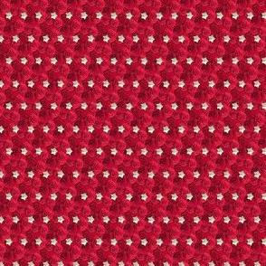 red Tiny stars