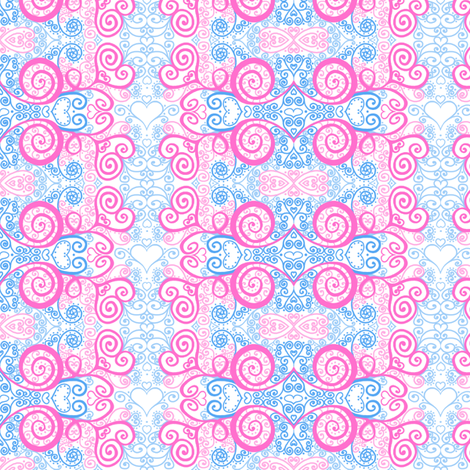 Curly_small fabric by tallulahdahling on Spoonflower - custom fabric