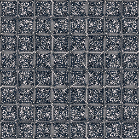 Tin ceiling fabric by keweenawchris on Spoonflower - custom fabric
