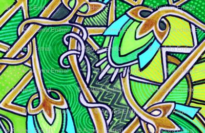 Emerald Miles (vertical stripe)