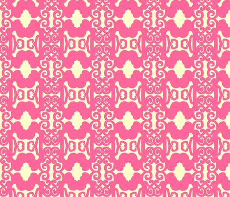 zztrellispink fabric by joybea on Spoonflower - custom fabric