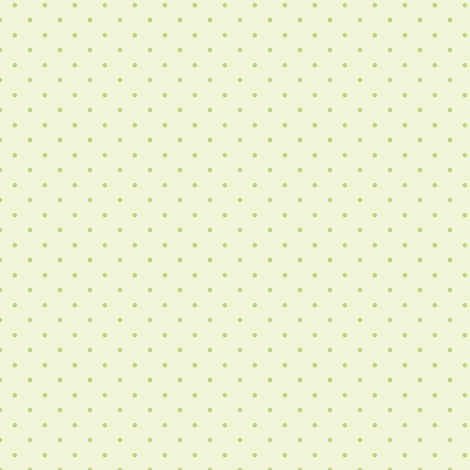 little dots - soft green