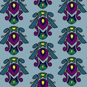 Mid-Century Peacock