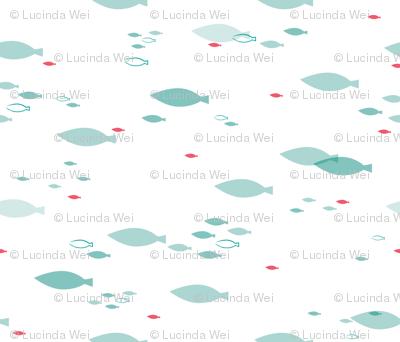 School of Fish - © Lucinda Wei