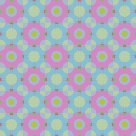 Polka (Charteuse dot) fabric by david_kent_collections on Spoonflower - custom fabric