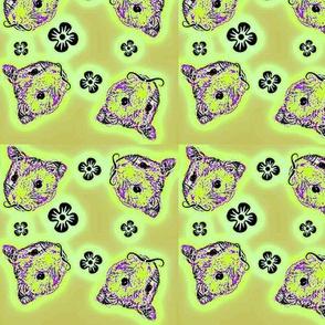 Mustachioed Hamster Khaki-ish