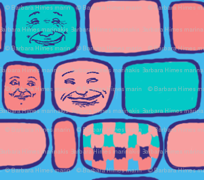 Happy Faces#7: Round Squares