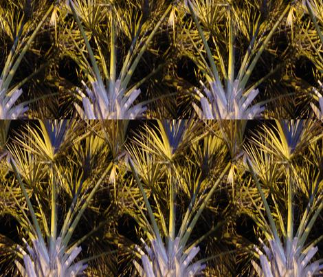 Tropical Palm fabric by snickerslynn on Spoonflower - custom fabric
