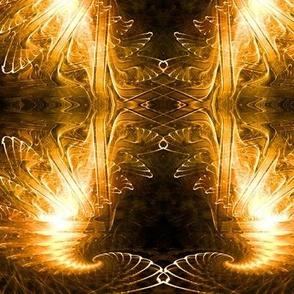 Star Fractal - Gold