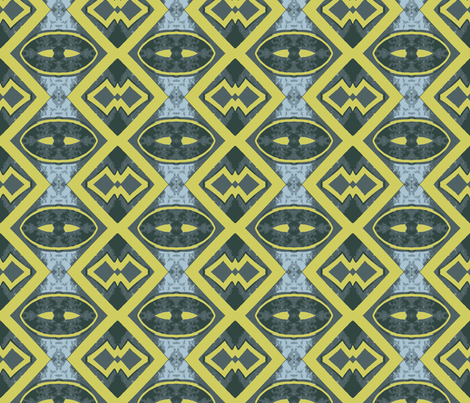 The Night has a Thousand Eyes fabric by susaninparis on Spoonflower - custom fabric