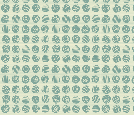tribal abstract doodles fabric by anastasiia-ku on Spoonflower - custom fabric