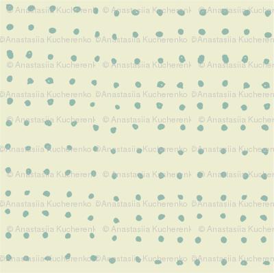 doodle polka dots