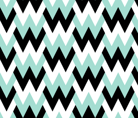 www - cool mint fabric by sef on Spoonflower - custom fabric