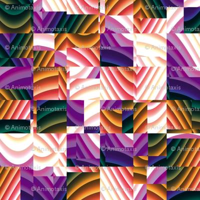 Ribbon Mosaic 5