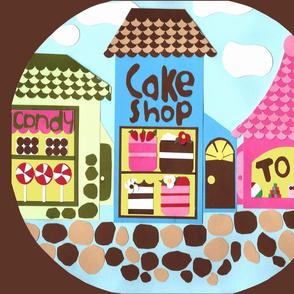 Paper Village Cake Shop