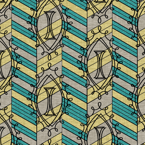 Modern Living #2 fabric by thirdhalfstudios on Spoonflower - custom fabric