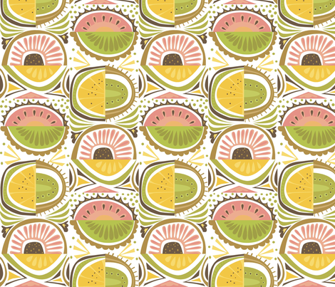 peach_stack fabric by antoniamanda on Spoonflower - custom fabric