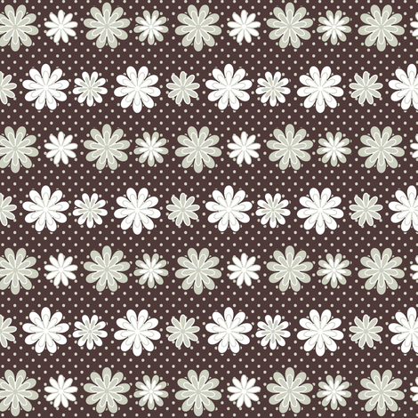 Wild for Daisies fabric by fridabarlow on Spoonflower - custom fabric