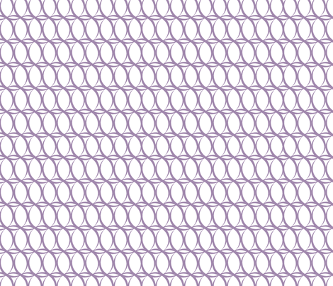 Loopy_Lavender fabric by fridabarlow on Spoonflower - custom fabric