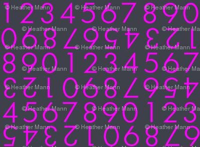 Violet Numbers