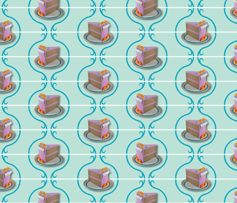 Piece of Cake fabric by lynnerd on Spoonflower - custom fabric