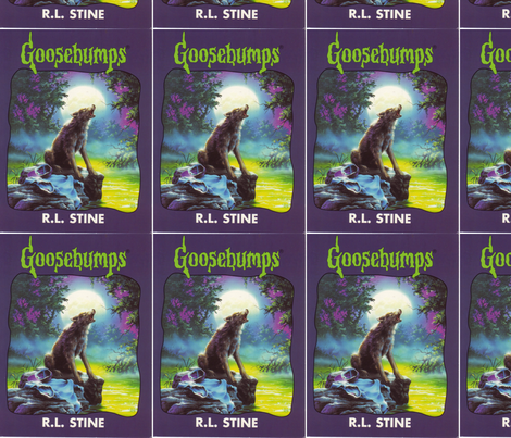 Goosebumps fabric by ianbullock on Spoonflower - custom fabric