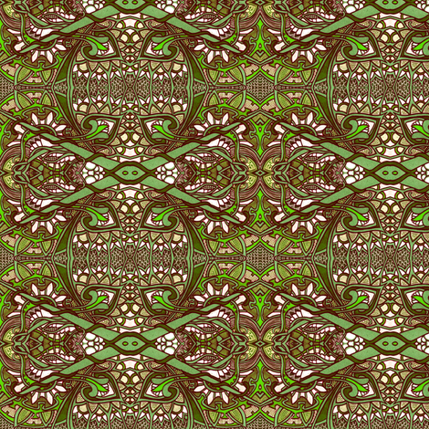 Green Thumb Experience fabric by edsel2084 on Spoonflower - custom fabric