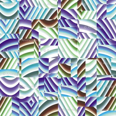 Ribbon Mosaic 10