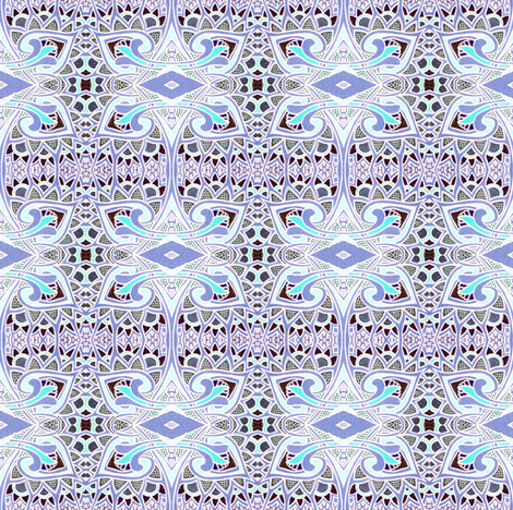 Jack Frost Nipping at my Nose fabric by edsel2084 on Spoonflower - custom fabric