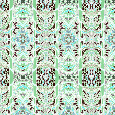 Bamboo and Lace fabric by edsel2084 on Spoonflower - custom fabric