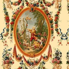 Rococo Swingers ~ Cream  ~ Medium