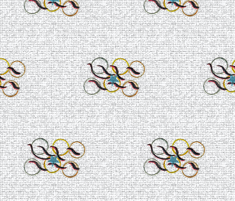 FADED_OLYMPIC_MEMORIES_1 fabric by mama's_hope on Spoonflower - custom fabric
