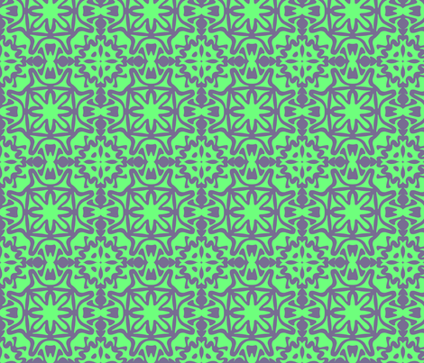 Flower Tile fabric by meaganrogers on Spoonflower - custom fabric