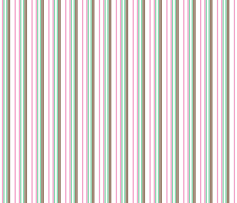 Watermelon Stripes fabric by jjtrends on Spoonflower - custom fabric