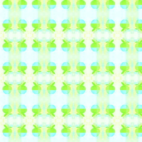 Green_apple by evandecraats July 7, 2012 fabric by _vandecraats on Spoonflower - custom fabric