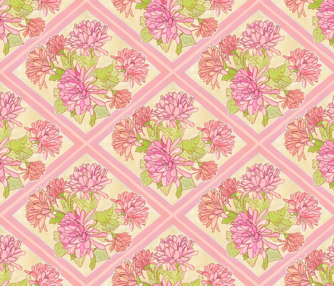 Kristi - Bouquet fabric by katrinazerilli on Spoonflower - custom fabric