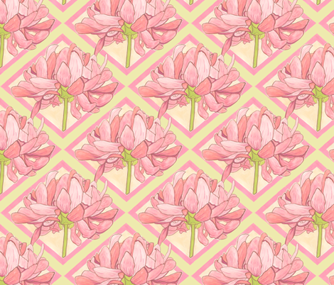 Kristi - Diamond fabric by katrinazerilli on Spoonflower - custom fabric