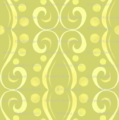 Kristi - Swirl - Green
