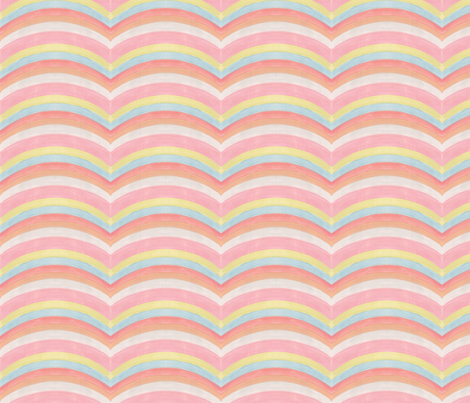 Kristi - Waves fabric by katrinazerilli on Spoonflower - custom fabric