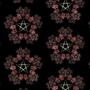 Pentagram Wreath