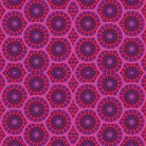 Fushia Fusion 2 fabric by dovetail_designs on Spoonflower - custom fabric