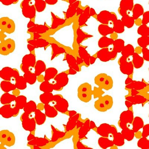 Pop art floral