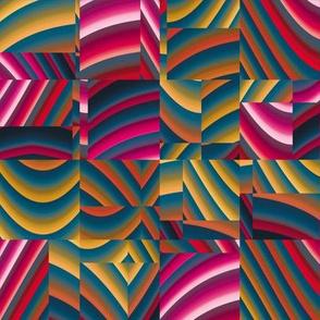 Ribbon Mosaic 15
