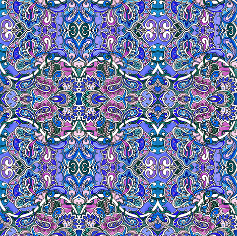 The Odd Quad Squad fabric by edsel2084 on Spoonflower - custom fabric