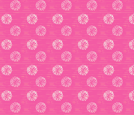 Party Pom Poms fabric by taramcgowan on Spoonflower - custom fabric