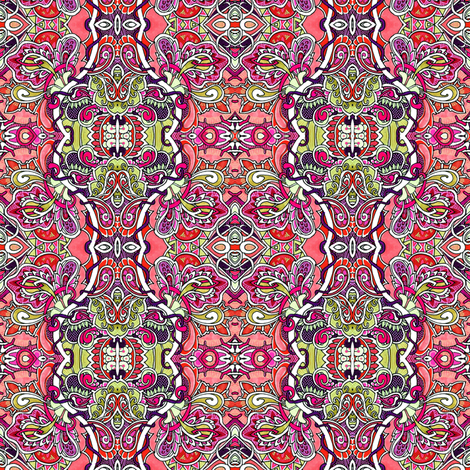 Where the Paisleys Grow fabric by edsel2084 on Spoonflower - custom fabric