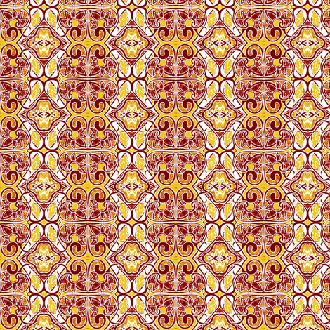 Four Spades and One Diamond fabric by edsel2084 on Spoonflower - custom fabric