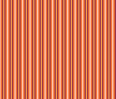 Autumn Crayon Stripe fabric by westofthemoon on Spoonflower - custom fabric